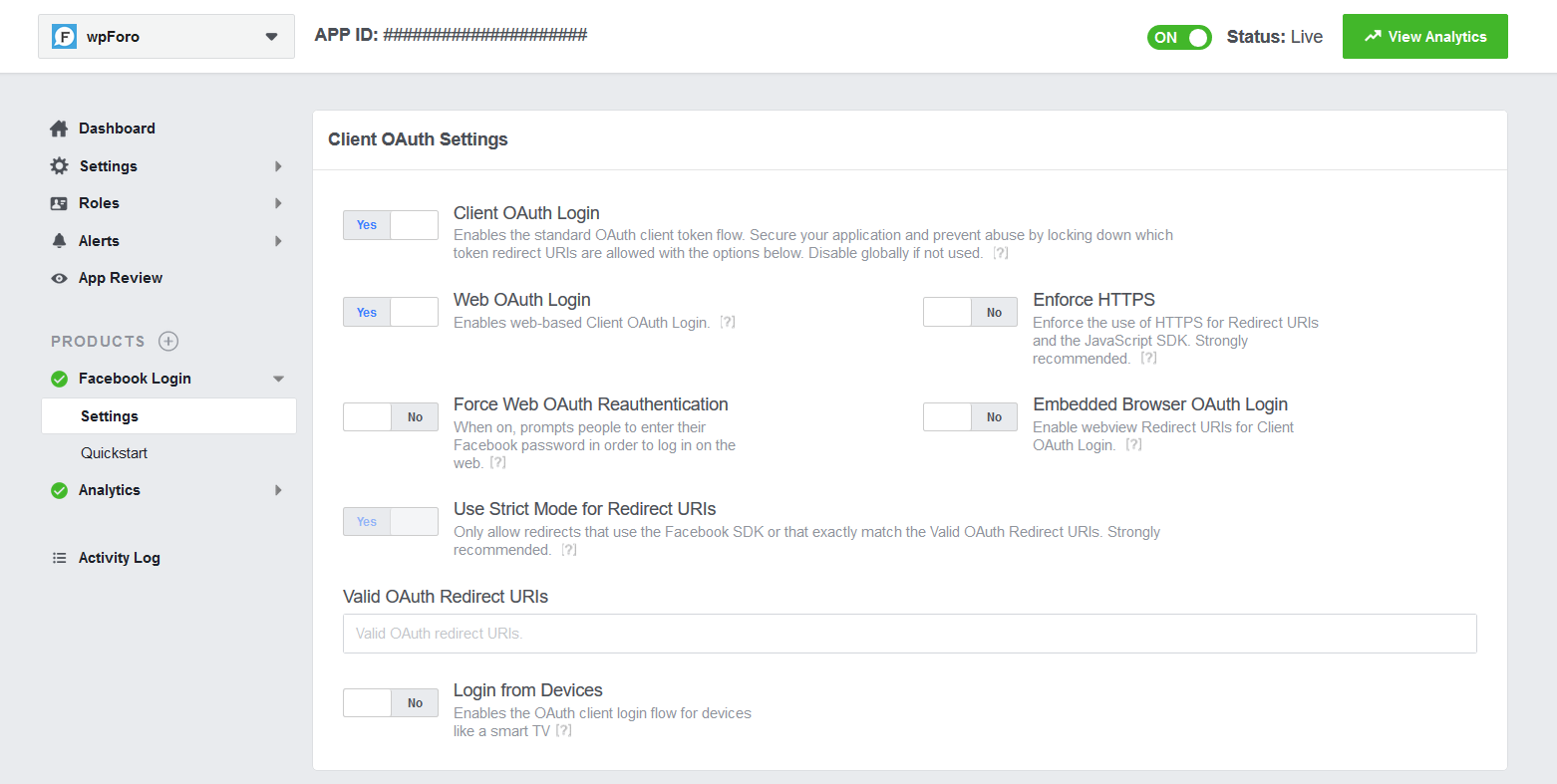 How to get Facebook App ID and Secret Key – Frequently Asked
