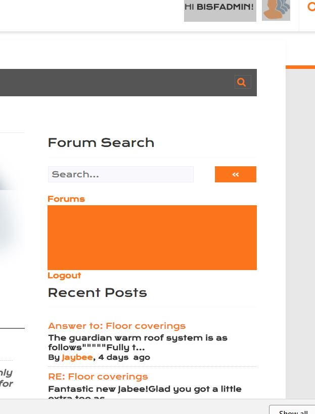 Forum Navigation Menu Widget – How-to and Troubleshooting – wpForo