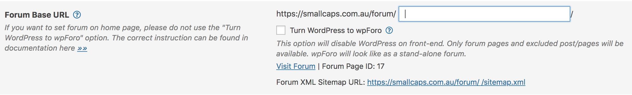 Turn WordPress to wpForo subdomain issue – How-to and